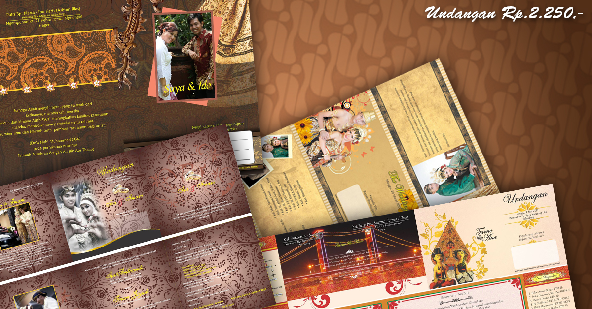 Undangan Softcover Full Colour